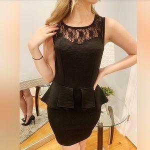 Dresses - 𝑩𝒍𝒂𝒄𝒌 𝑷𝒆𝒑𝒍𝒖𝒎 𝑫𝒓𝒆𝒔𝒔